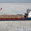 Visiting the Frozen Ships in Riga Gulf